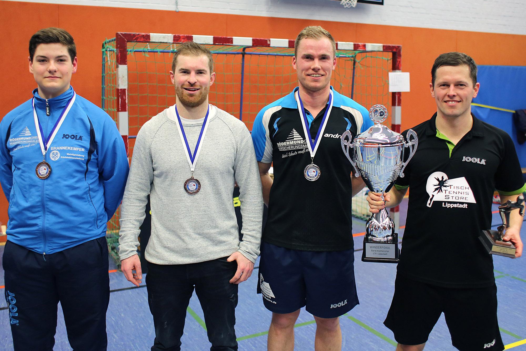 Gleitsmann und Thaldorf neue Vereinsmeister